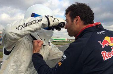 Даниэль Риккардо побил рекорд Хэмилтона на трассе Top Gear