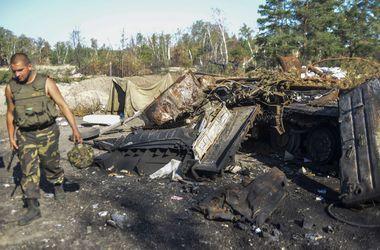 В ходе столкновения с боевиками украинские бойцы уничтожили четыре танка