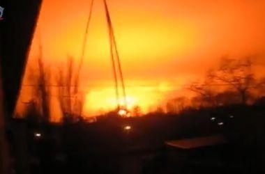 В Донецке прогремел мощный взрыв