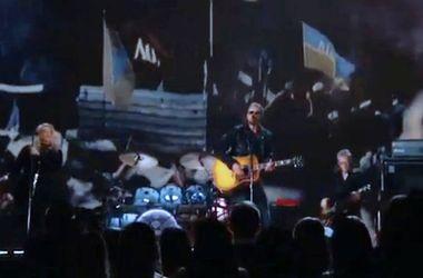 На церемонии Grammy показали видео с Майдана