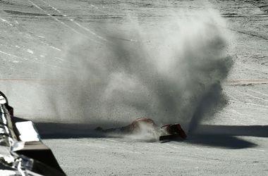 Чешский горнолыжник получил сотрясение мозга после ужасного падения на трассе
