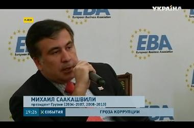 В эти минуты Михаил Саакашвили встречается с Петром Порошенко