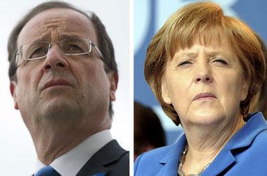 """Олланд подтвердил, что вместе с Меркель поедет в Минск на саммит в """"нормандском формате"""""""