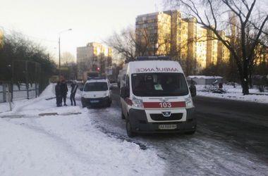В Киеве в пункте обогрева сгорел человек