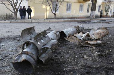 Центр Донецка подвергся мощному минометному обстрелу