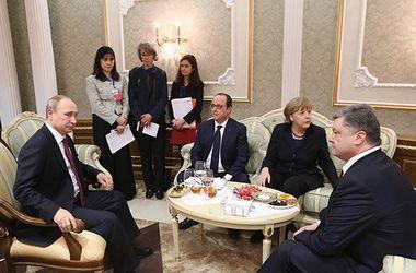 """Лидеры стран """"нормандского формата"""" готовят совместную декларацию о выполнении минских договоренностей - источник"""