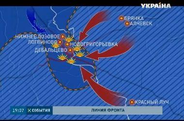 Самой горячей точкой в Донецкой области остается Дебальцево