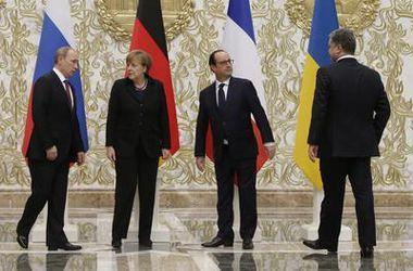 """Участники """"нормандского саммита"""", возможно, выступят с совместным заявлением - пресс-служба Лукашенко"""