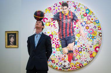 Картину с изображением Месси могут продать на аукционе за 400 тысяч евро