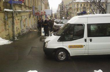 В столице произошло вооруженное ограбление банка