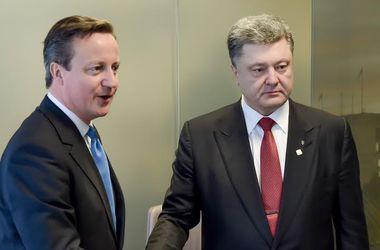 Порошенко и Кэмерон скоординировали дальнейшие действия в случае невыполнения минских договоренностей
