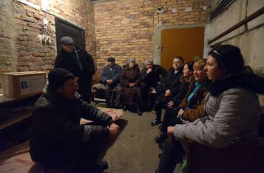 Страшная ночь в Донецке: артиллерийская канонада и взрывы