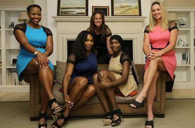 Серена Уильямс одела сборную США по теннису