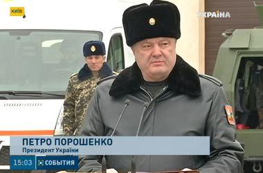 Если мир не наступит, по всей Украине будет объявлено военное положение – Порошенко