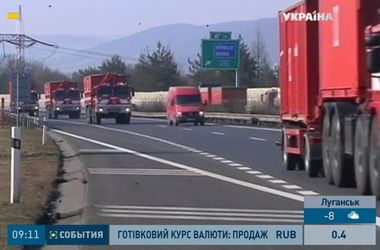 Сегодня вечером в Киев прибудет гуманитарный конвой из Чехии