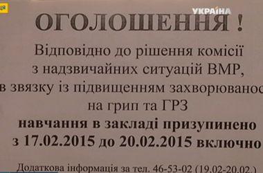 Грипп атакует: в четырех областях Украины школы закрыли на карантин