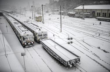 Турцию снова завалило снегом