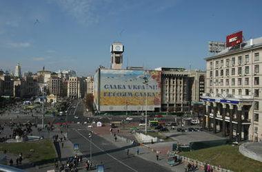 В годовщину революции достоинства в Киеве перекроют Крещатик, а метро будет работать в особом режиме