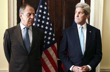 Лавров и Керри обсудили проблемы выполнения минских соглашений