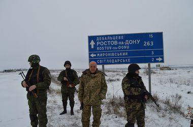 В Луганской области потеряна связь с двумя населенными пунктами на Дебальцевском плацдарме