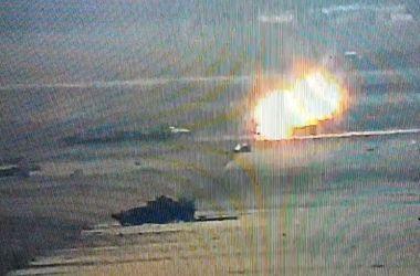 В сети появились кадры уничтожения бронетехники боевиков силами ВСУ