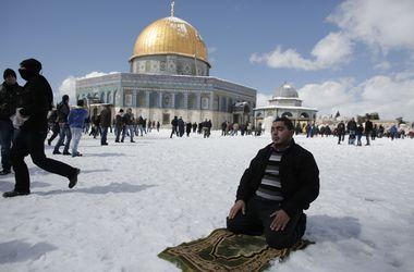 Ближний Восток завалило снегом