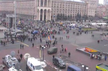 В Киеве сотни людей собрались на Марш Достоинства