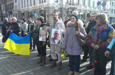 В Харькове почтили минутой молчания память погибших в результате теракта