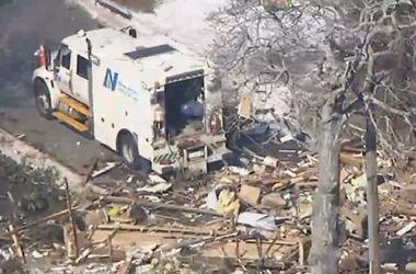 В США жилой дом разорвало на куски из-за утечки газа