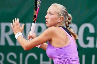 Украинки уступили в первом круге турнира в Санкт-Петербурге