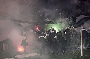 Чемпионат Греции приостановлен из-за фанатов