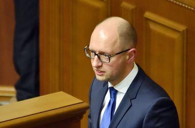 Яценюк просит парламентские фракции рассмотреть изменения в госбюджет