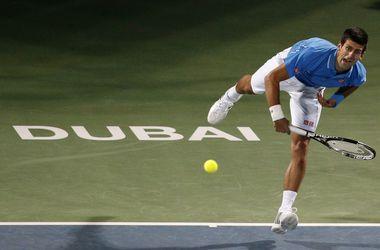 Джокович и Федерер сыграют в финале турнира в Дубае