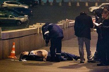 Первые кадры с места убийства Бориса Немцова