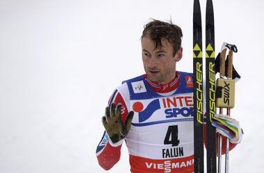 Лыжник Петтер Нортуг выиграл гонку на 50 км на чемпионате мира