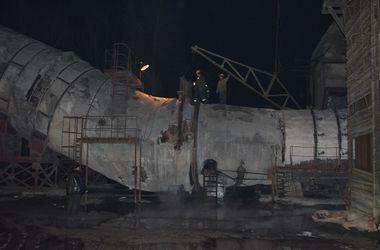 Пожар на Трипольской ТЭС под Киевом тушили пять часов