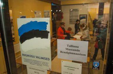 На парламентских выборах в Эстонии второе место заняла пророссийская партия