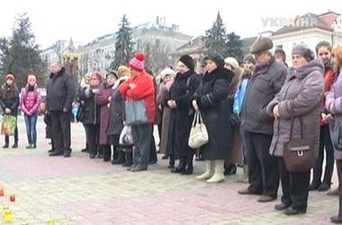 В городах Украины прошли акции в поддержку Савченко
