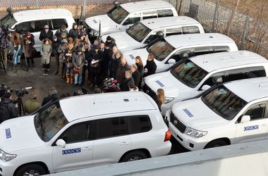 Киев просит ОБСЕ разместить наблюдателей на самых проблемных точках на линии разграничения в Донбассе