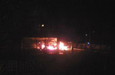 В Славянске на автозаправке произошел взрыв