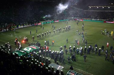 Чемпионат Греции по футболу возобновили, но без зрителей