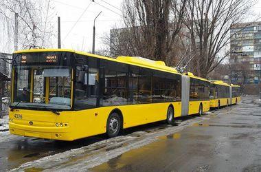 В Киеве на линию запустят новые троллейбусы