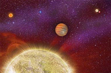 """Ученые нашли планету, над которой восходят четыре """"солнца"""""""