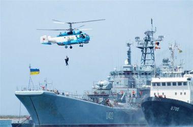 Украинские ВМС проводят комплексное тактическое учение в Черном море
