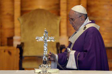 Папа Римский Франциск поздравил женщин с праздником 8 марта