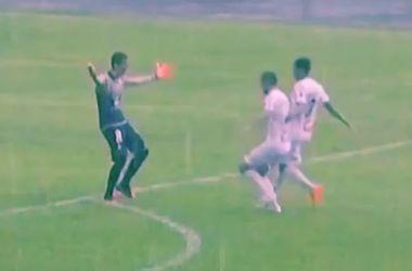 Бразильский вратарь забил гол из своей штрафной площади