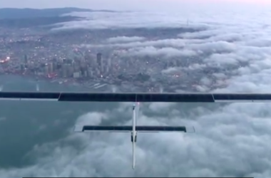 Самолет на солнечных батареях начал кругосветное путешествие