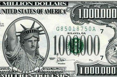 Купить 1000000 долларов одной купюрой 5 гривень 2013 год змеи какой метал
