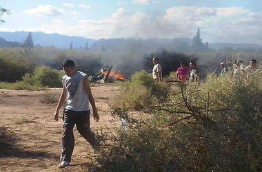 Тела погибших в авиакатастрофе в Аргентине отправлены на опознание