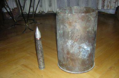 Фермер из Донецкой области разбирал снаряды на металлолом